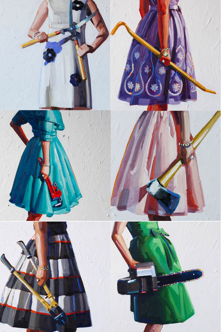 kellyreemsten Womens Work Paintings